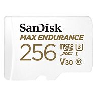 SanDisk microSDXC 256GB Max Endurance + SD Adapter