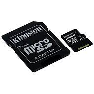 Kingston Micro SDXC 128GB Class 10 UHS-I + SD adapter - Memory Card