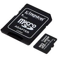 Kingston MicroSDHC 32GB Class 10 UHS-I Industrial Temp + SD Adapter - Memory Card