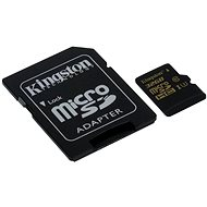 Kingston MicroSDHC 32GB UHS-I U3 + SD Adapter - Memory Card