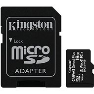 Kingston Canvas Select Plus micro SDHC 16GB Class 10 UHS-I - Memory Card