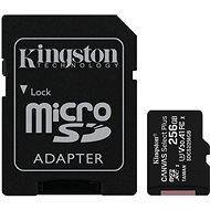 Kingston Canvas Select Plus micro SDXC 256GB Class 10 UHS-I - Memory Card