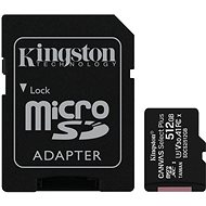 Kingston Canvas Select Plus micro SDXC 512GB Class 10 UHS-I - Memory Card