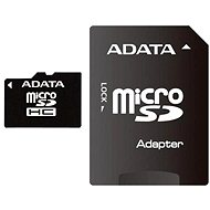 ADATA Micro SDHC 4GB Class 4 + SD Adaptor - Memory Card
