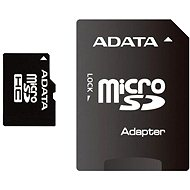 ADATA Micro SDHC 16GB Class 4 + SD Adaptor - Memory Card