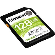 Kingston Canvas Select Plus SDXC 128GB Class 10 UHS-I - Memory Card