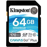 Kingston Canvas Go! Plus SDXC 64GB