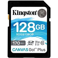 Kingston Canvas Go! Plus SDXC 128GB - Memory Card