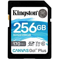 Kingston Canvas Go! Plus SDXC 256GB - Memory Card