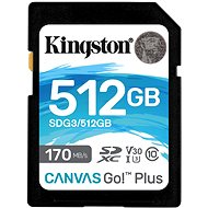 Kingston Canvas Go Plus SDXC 512GB - Memory Card