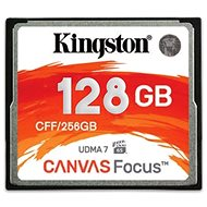 Kingston Compact Flash 128GB Canvas Focus - Memory Card