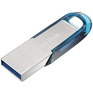 SanDisk Ultra Flair 128GB tropical blue - USB Flash Drive