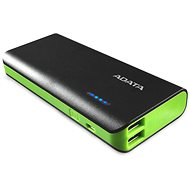 ADATA PT100 Power Bank 10,000mAh Black/Green - Power Bank