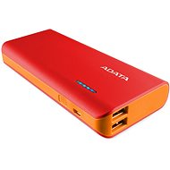 ADATA PT100 Power Bank 10,000mAh Red/Orange
