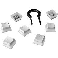 HyperX Pudding Keycaps Full Key Set, White - Accessories