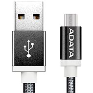 Data cable ADATA microUSB 1m black - Datový kabel