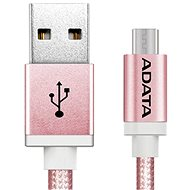 ADATA microUSB 1m pink - Data cable