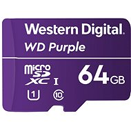 WD Purple QD101 SDXC 64GB - Memory Card