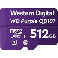 WD Purple QD101 SDXC 512GB - Memory Card