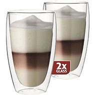 Maxxo Thermo DG832 Latte Glasses - Thermo glasses