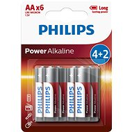 Philips LR6P6BP 6pcs in pack - Disposable batteries