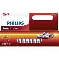 Disposable Battery Philips LR03P12W 12pcs in a package
