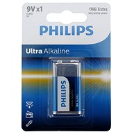 Philips 6LR61E1B 1pc in Package - Disposable Battery
