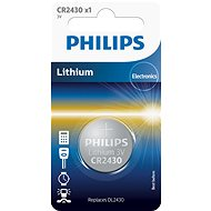 Philips CR2430 1 unit per package - Button Battery