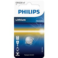 Philips CR1220 1 unit per package - Button Battery