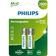 Philips R6B2A260 pack of 2 - Rechargeable Battery