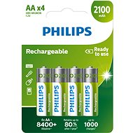 Philips R6B4A210 4pcs - Rechargeable Battery