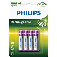 Philips R03B4A95 4 pcs per pack - Rechargeable Battery