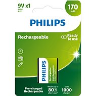 Philips 9VB1A17 1 unit per package - Rechargeable Battery