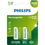 Philips R14B2A300 pack of 2 - Rechargeable Battery