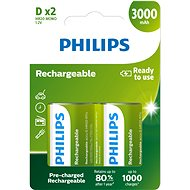 Philips R20B2A300 pack of 2 - Rechargeable battery