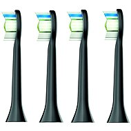 Philips Sonicare HX6064/33 Diamond Clean Standard Replacement Brush Heads, 4pcs - Toothbrush Replacement Head