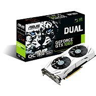 ASUS DUAL GeForce GTX 1060 O3G - Graphics Card