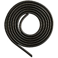 ELPINIO Cable Protection Spiral - Metallic Black - Cable Organiser