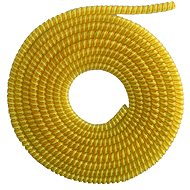 ELPINIO Cable Protection Spiral - Yellow - Cable Organiser