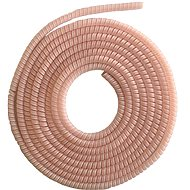 ELPINIO Cable Protection Spiral - Light Pink - Cable Organiser