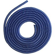 ELPINIO Cable Protection Spiral - Blue - Cable Organiser