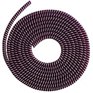 ELPINIO Cable Protection Spiral - Burgundy - Cable Organiser