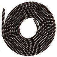ELPINIO Cable Protection Spiral - Brown - Cable Organiser