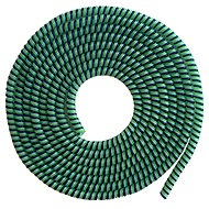 ELPINIO Cable Protection Spiral - Dark Green - Cable Organiser