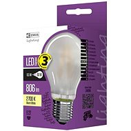 EMOS LED Filament A60 A++ 6.5W E27 Matt, Warm White