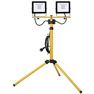 EMOS LED Spotlight HOBBY SLIM, 2 × 30W + Tripod