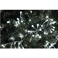 EMOS 288 LED Christmas Chain - cluster, 2.4m, cool white, timer - Christmas Lights