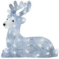 LED Christmas Reindeer, 31cm, Outdoor, Cold White, Timer