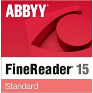 ABBYY FineReader 15 Standard (Electronic License) - Electronic license