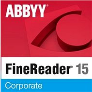 ABBYY FineReader 15 Corporate (Electronic License) - Electronic license